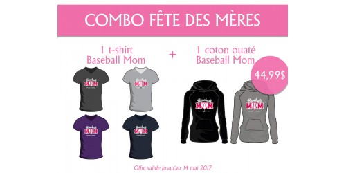 Combo Baseball Mom