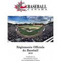 Livre de règlements Baseball Canada 2018